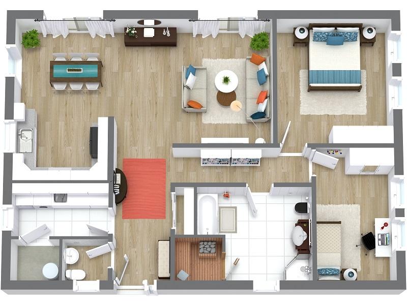 2D und 3D Grundrisserstellung für Immobilien